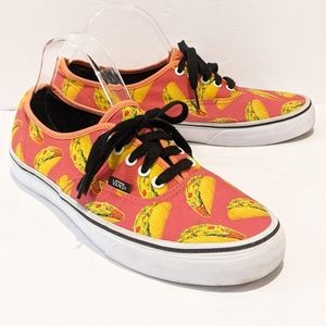 Vans late night tacos shoes sneakers men's 10